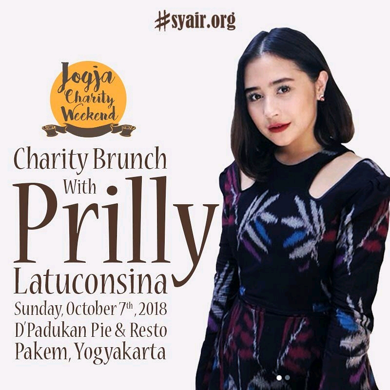 CHARITY BRUNCH WITH PRILLY
